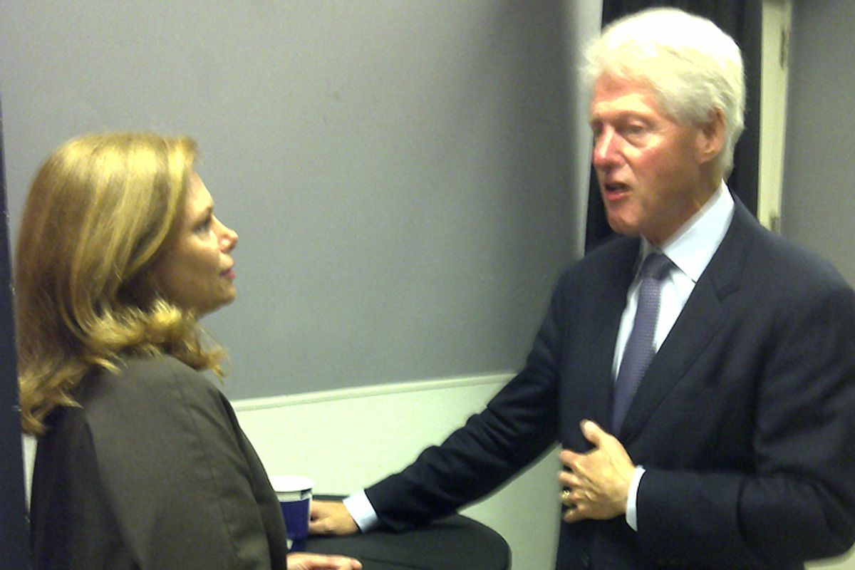 Tarryl Clark and Bill Clinton