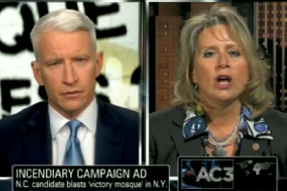 Anderson Cooper and Renee Ellmers