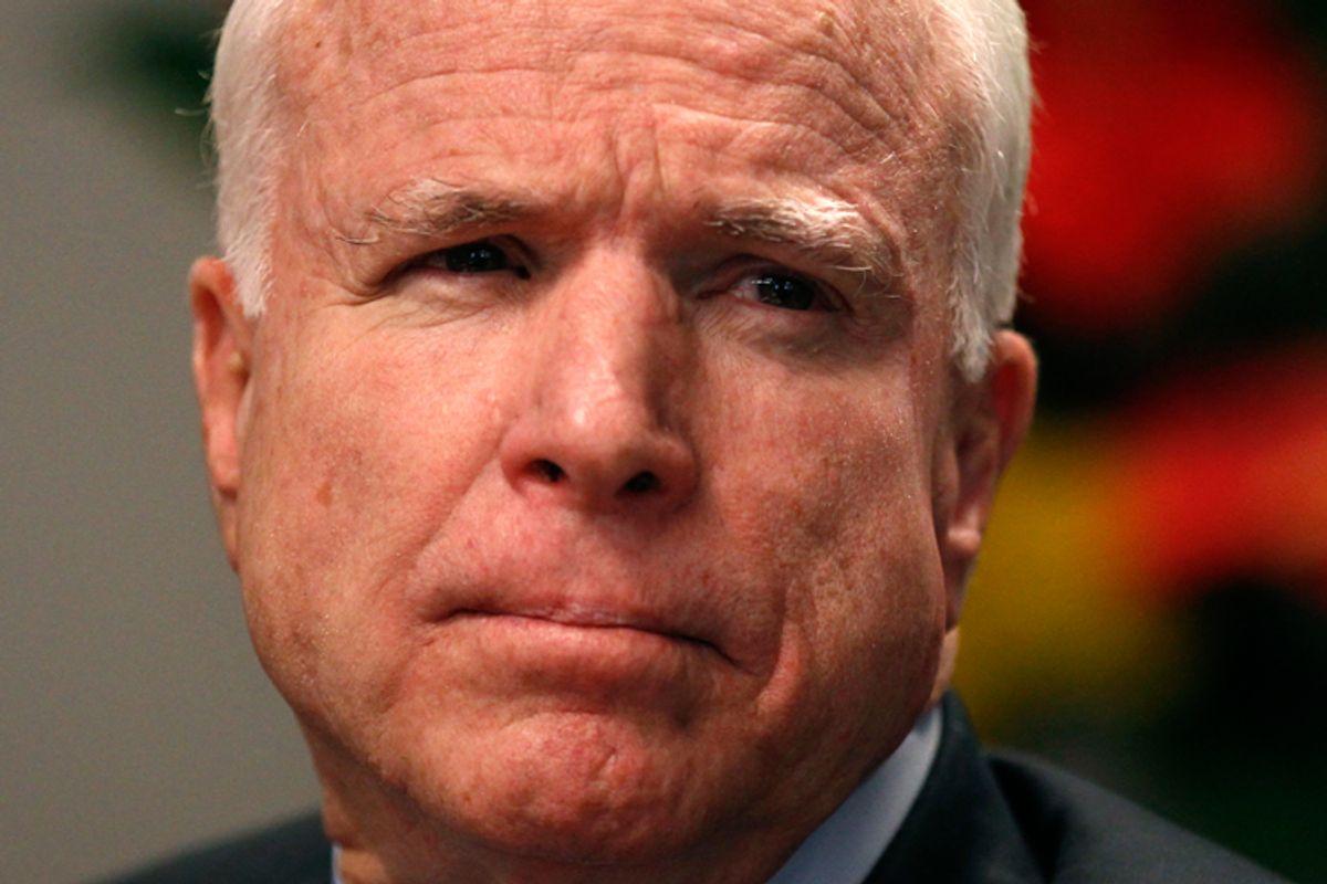 Sen. John McCain (R-Ariz.)