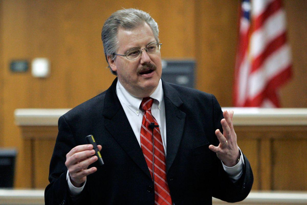 Calumet County (Wis.) District Attorney Kenneth Kratz
