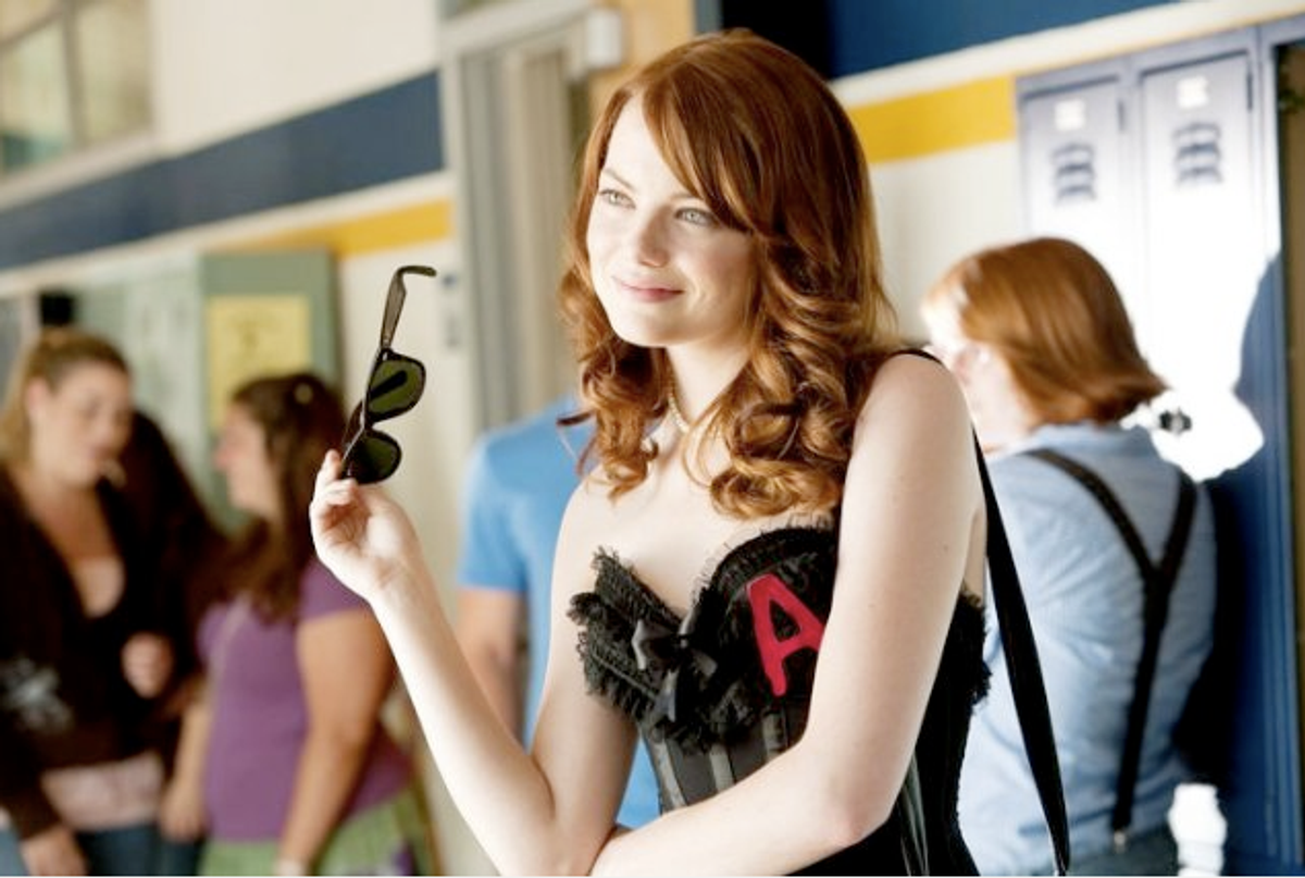 """Emma Stone in """"Easy A"""""""