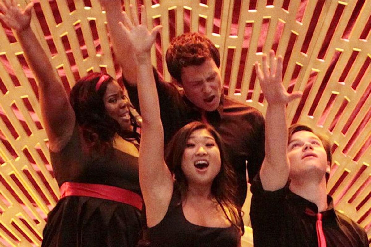 """A still from """"Glee"""""""