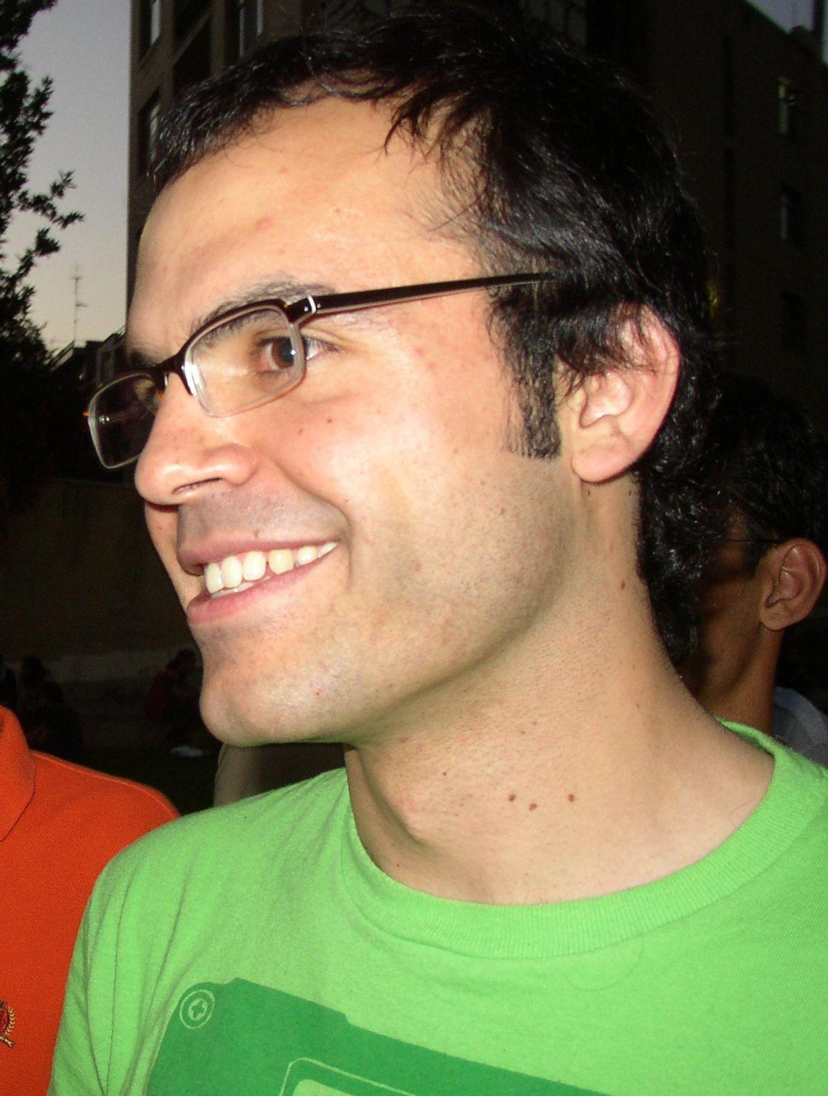 Hossein Derakhshan in 2005