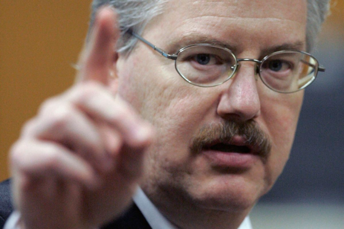 Kenneth Kratz giving his closing argument in the Steven Avery trial