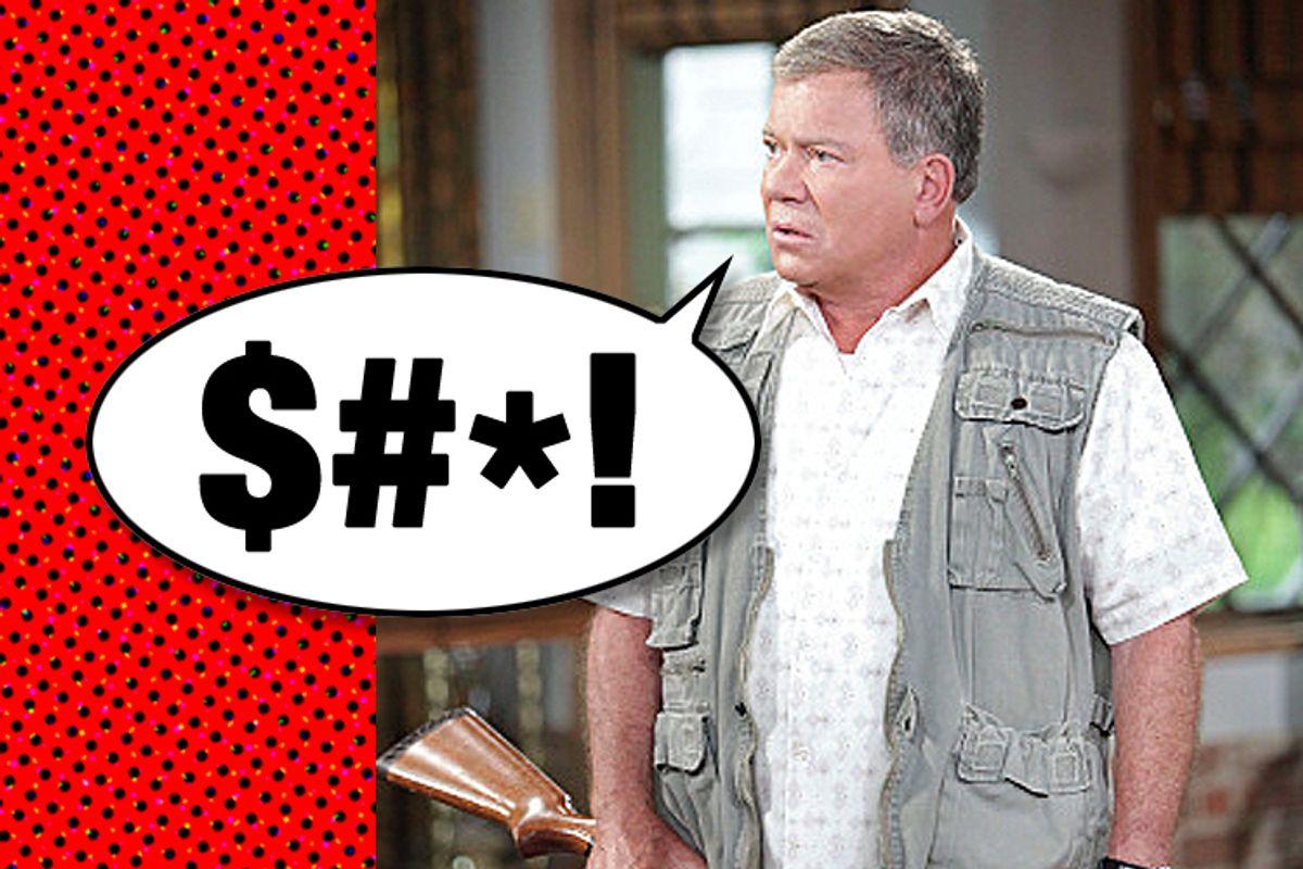 "William Shatner in ""$#*! My Dad Says"""