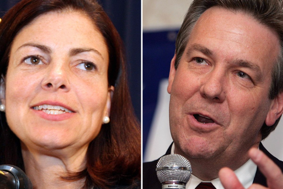 Kelly Ayotte and Ovide Lamontagne