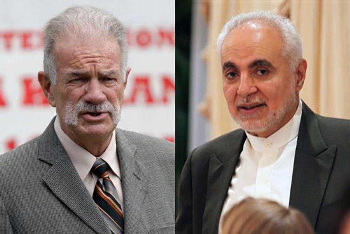 Pastor Terry Jones and Imam Feisal Abdul Rauf