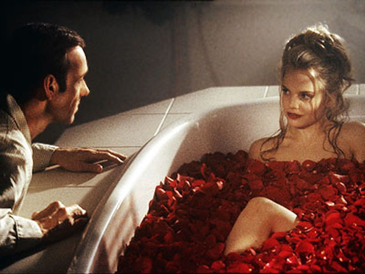 """A still from """"American Beauty"""""""