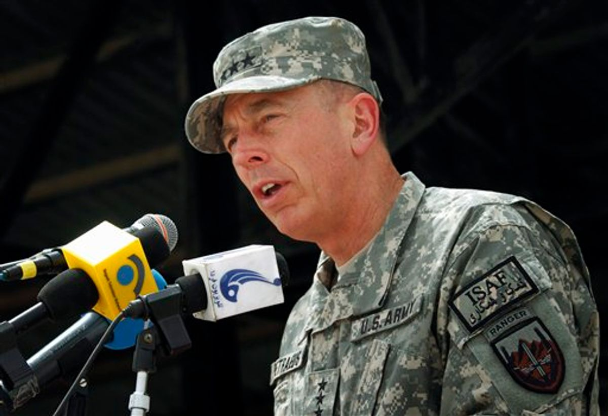 David Petraeus  (AP/Musadeq Sadeq)