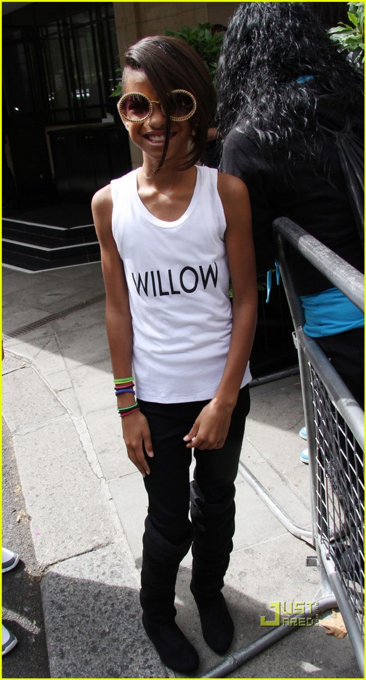 Willow Smith sighted leaving her hotel on July 17, 2010 in London, England.Willow Smith Sighting In London - July 17, 2010London, England United KingdomJuly 17, 2010Photo by Simon James/FilmMagic.comTo license this image (61071633), contact FilmMagic.com (Simon James/filmmagic.com)