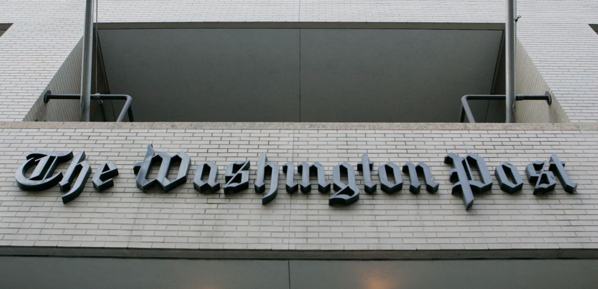 The Washington Post Newspaper building in Washington , Wednesday, Feb. 28, 2007. (AP Photo/Pablo Martinez Monsivais)       (Associated Press)