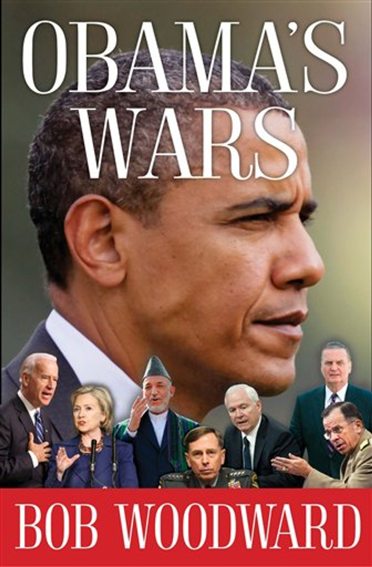 """This image provided by Simon & Schuster shows the cover of Bob Woodward's new book, """"Obama's Wars"""". Woodward's latest investigative work will run 441 pages and show Obama """"making the critical decisions on the Afghanistan War, the secret war in Pakistan and the worldwide fight against terrorism,"""" Simon & Schuster announced Tuesday Sept. 7, 2010. The book is scheduled to go on sale Sept. 27, 2010. (AP Photo/Simon & Schuster) NO SALES (AP)"""