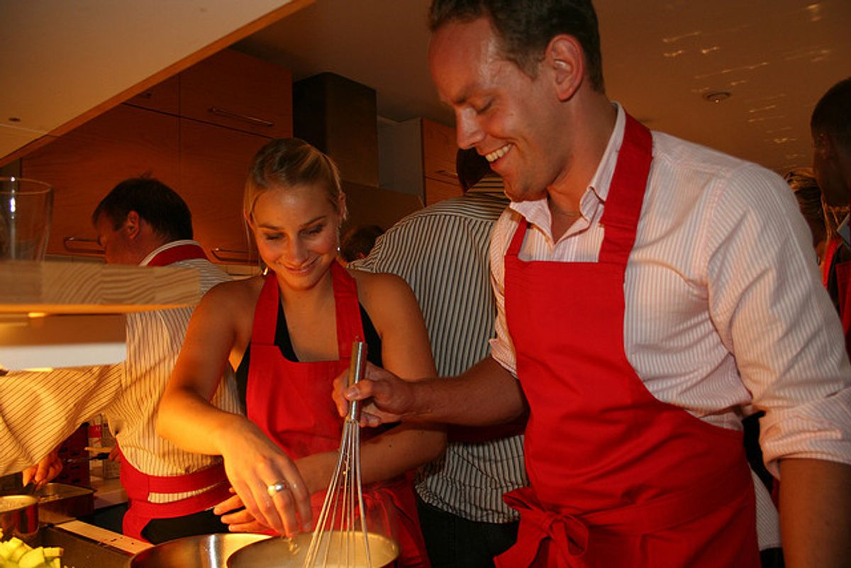 Cooking at Mosebacke, Stockholm