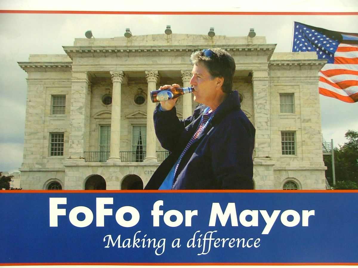 """Andrew """"FoFo"""" Gilich for mayor!"""