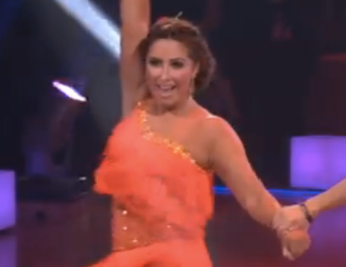 """Bristol Palin performs on """"Dancing With the Stars."""""""