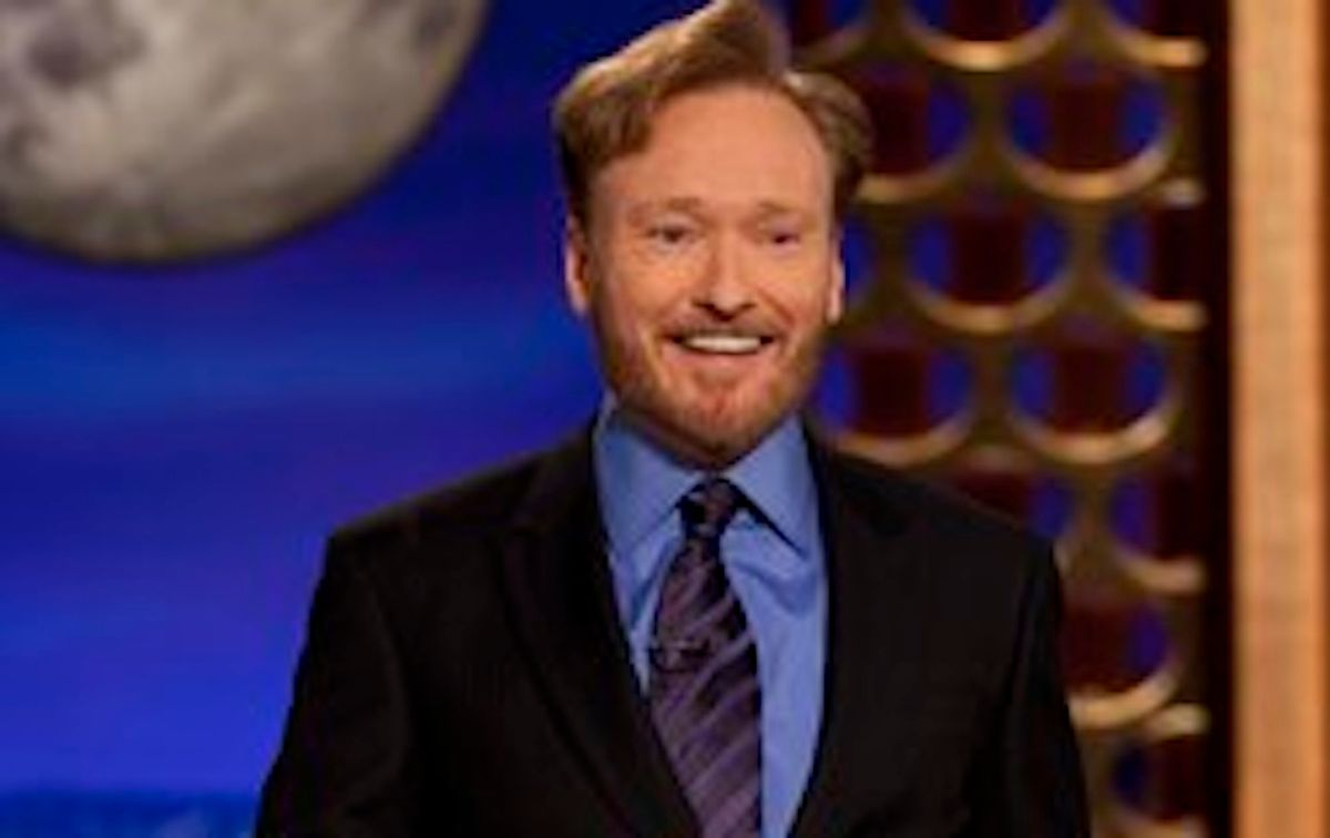 """** ADDS PHOTOGRAPHER CREDIT ** In this photo provided by TBS, Conan O'Brien performs during the debut of his new TBS show """"Conan"""" on Monday, Nov. 8, 2010. (AP Photo/TBS, Meghan Sinclair) NO SALES (AP)"""