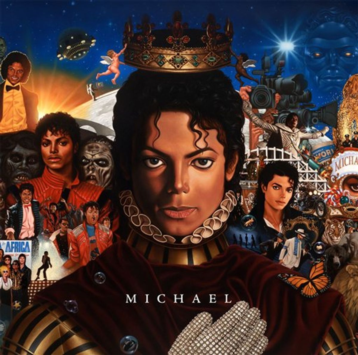"""In this CD cover image released by Epic Records, newly completed recordings from Michael Jackson entitled """"Michael,"""" is shown. The CD will be released on Dec.14. (AP Photo/Epic Records)  (AP)"""