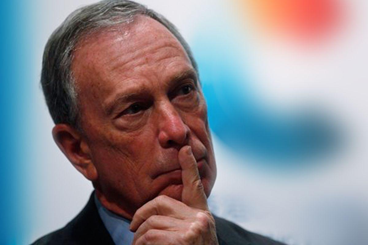 Michael Bloomberg on Nov. 5.