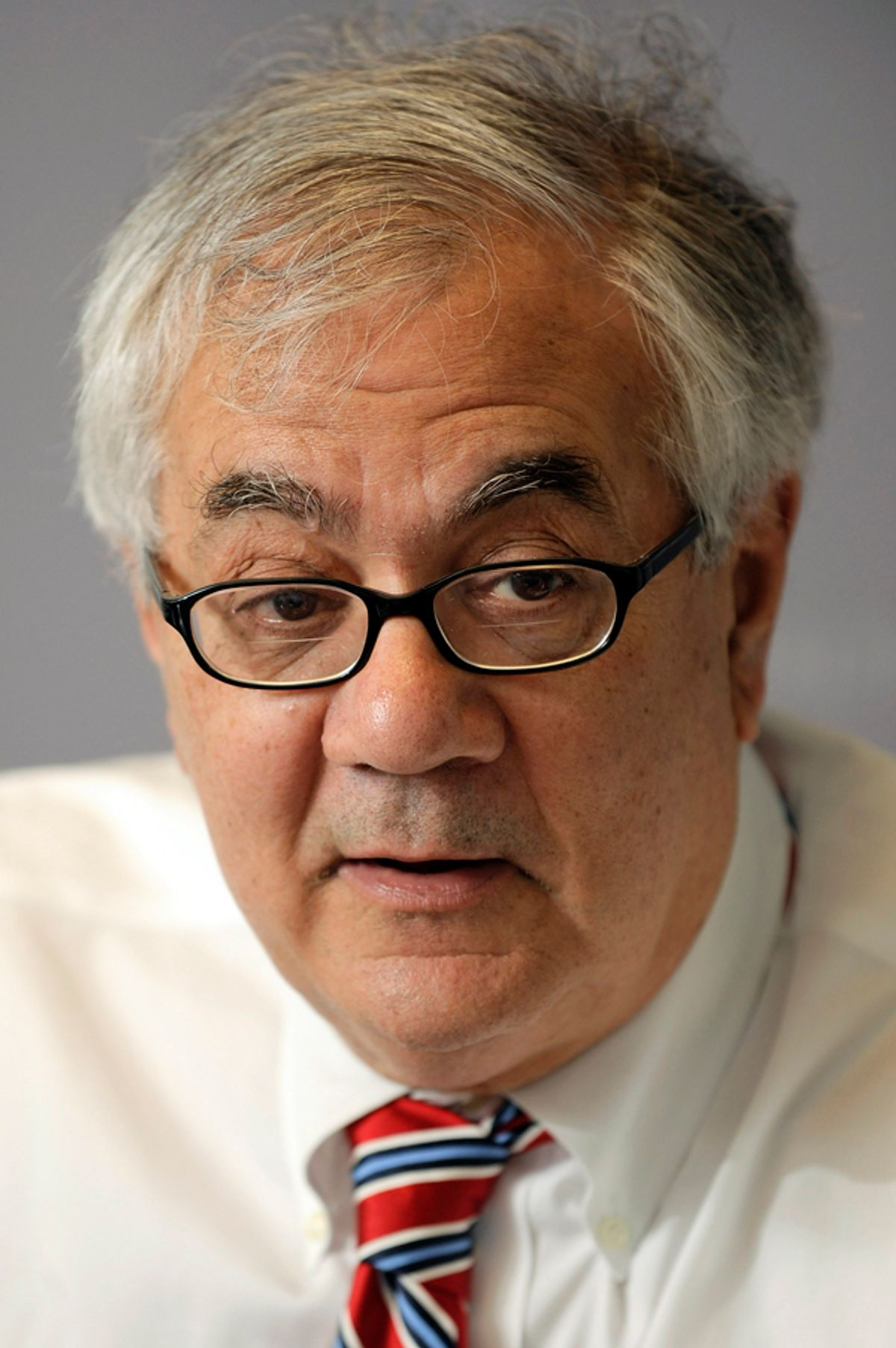 U.S. Representative Barney Frank (D-MA), Chairman of the House Financial Services Committee, participates in the Reuters Global Financial Regulation Summit in Washington, April 28, 2009.  REUTERS/Jonathan Ernst (UNITED STATES POLITICS BUSINESS HEADSHOT) (© Jonathan Ernst / Reuters)