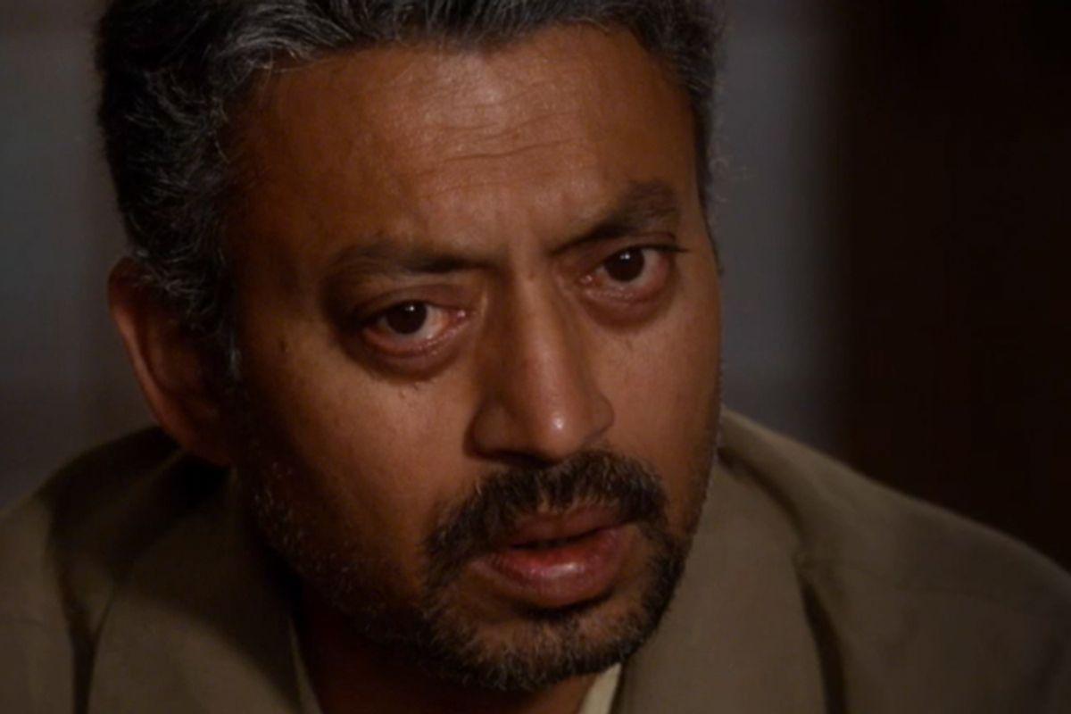 """Irrfan Khan in """"In Treatment"""""""