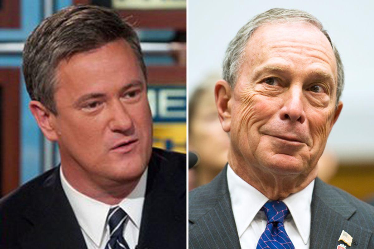 Joe Scarborough and Michael Bloomberg
