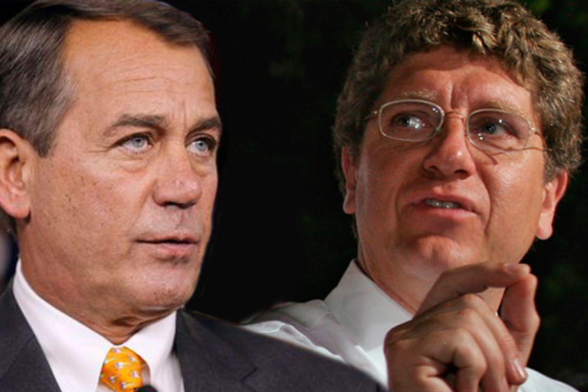 John Boehner and Randall Terry