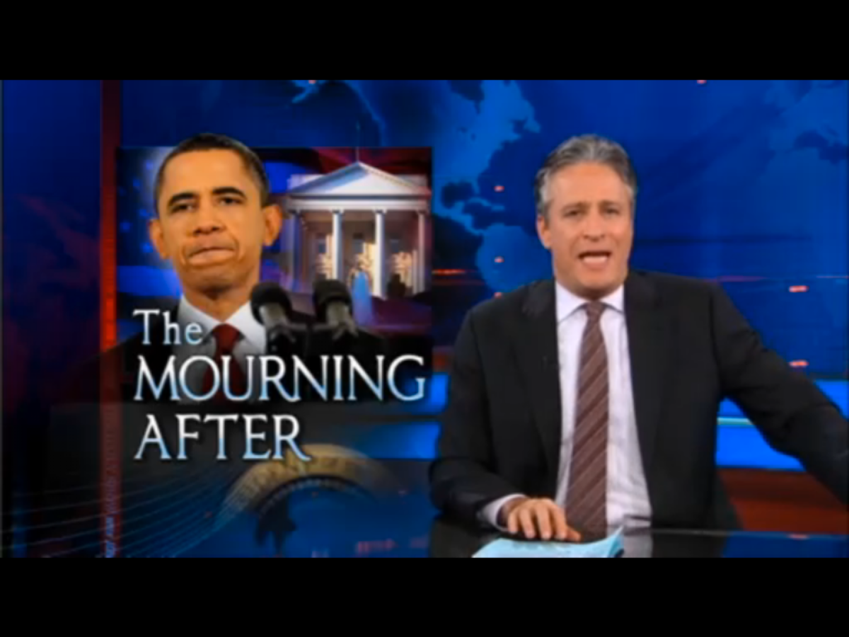 Jon Stewart dissects President Obama's first post-election press conference