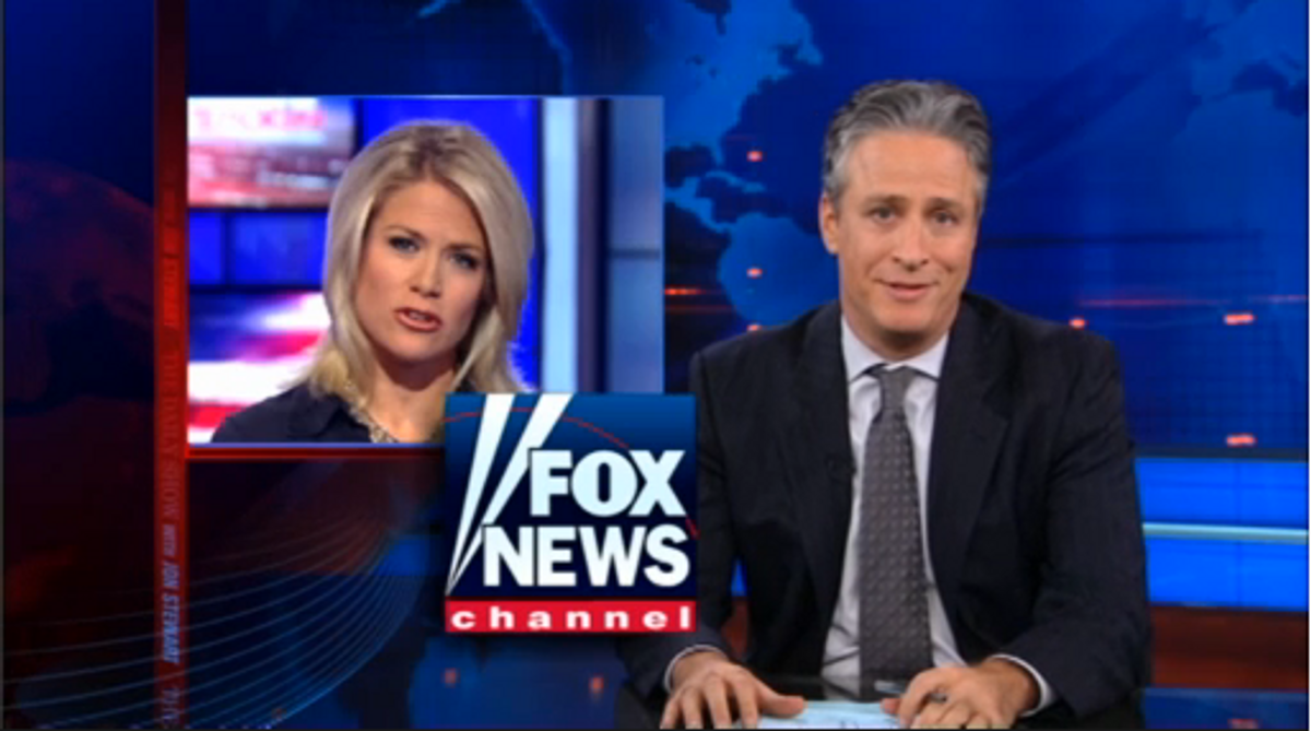 """A still from Monday night's episode of """"The Daily Show"""""""