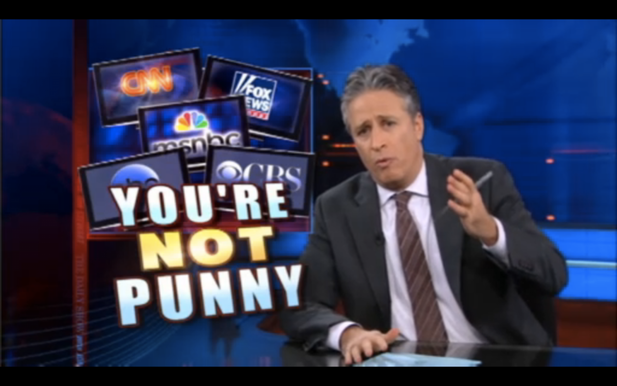"""A still from Monday's episode of """"The Daily Show"""""""