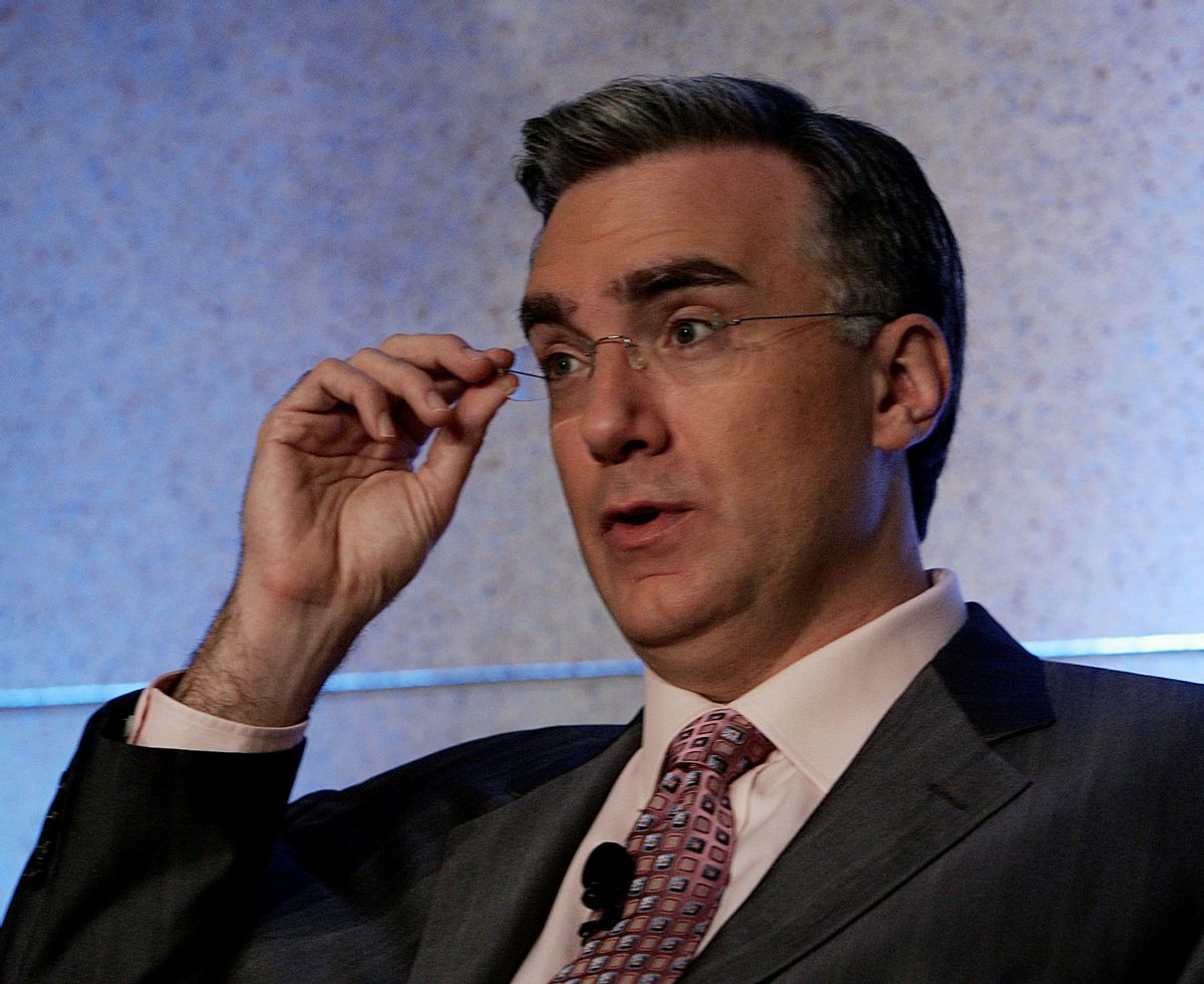 """Keith Olbermann, host of the MSNBC show, """"Countdown With Keith Olbermann,"""" talks about his show at the Summer Television Critics Association Press Tour, Saturday, July 22, 2006, in Pasadena, Calif. (AP Photo/Reed Saxon) (Associated Press)"""