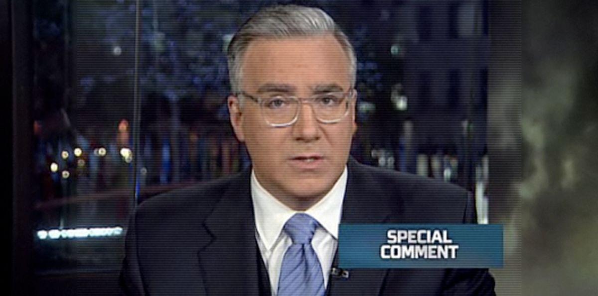 MSNBC's Keith Olbermann
