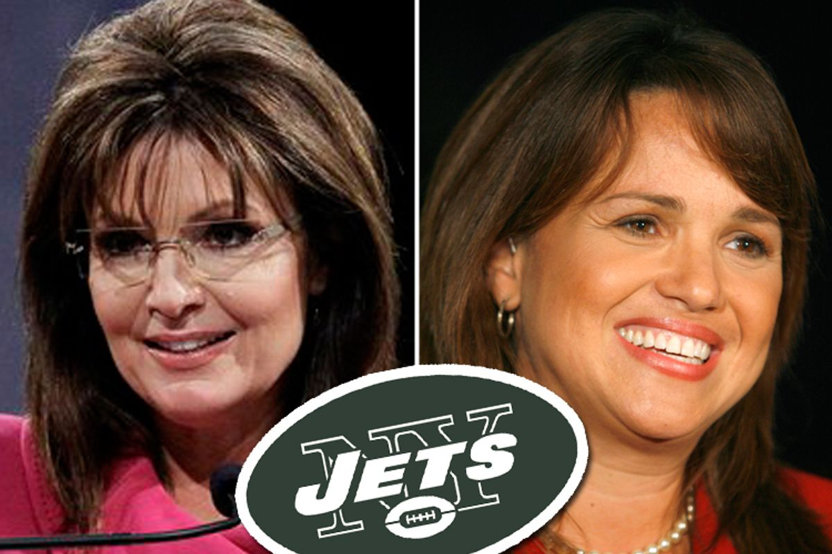 Sarah Palin and Christine O'Donnell