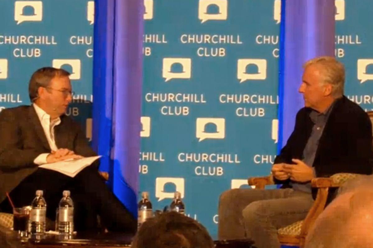 Eric Schmidt and James Cameron