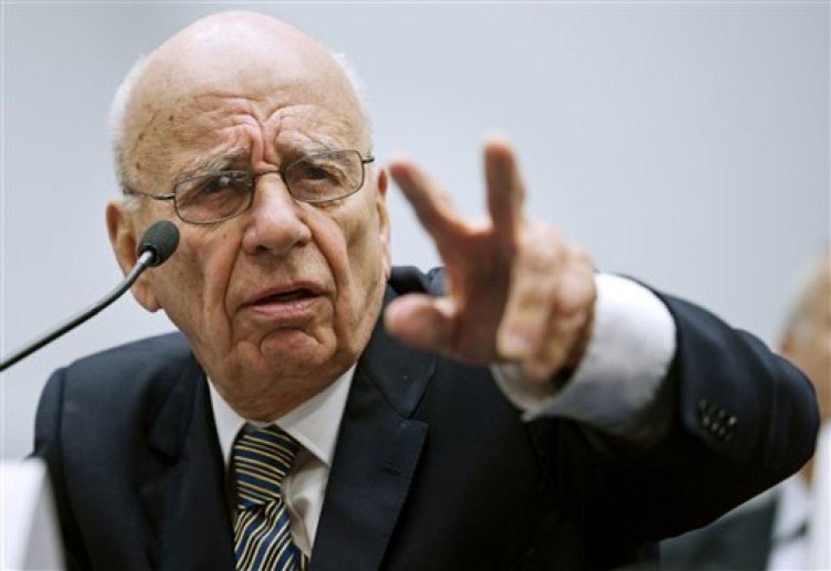News Corp. chairman and CEO Rupert Murdoch              (AP Photo/Cliff Owen)