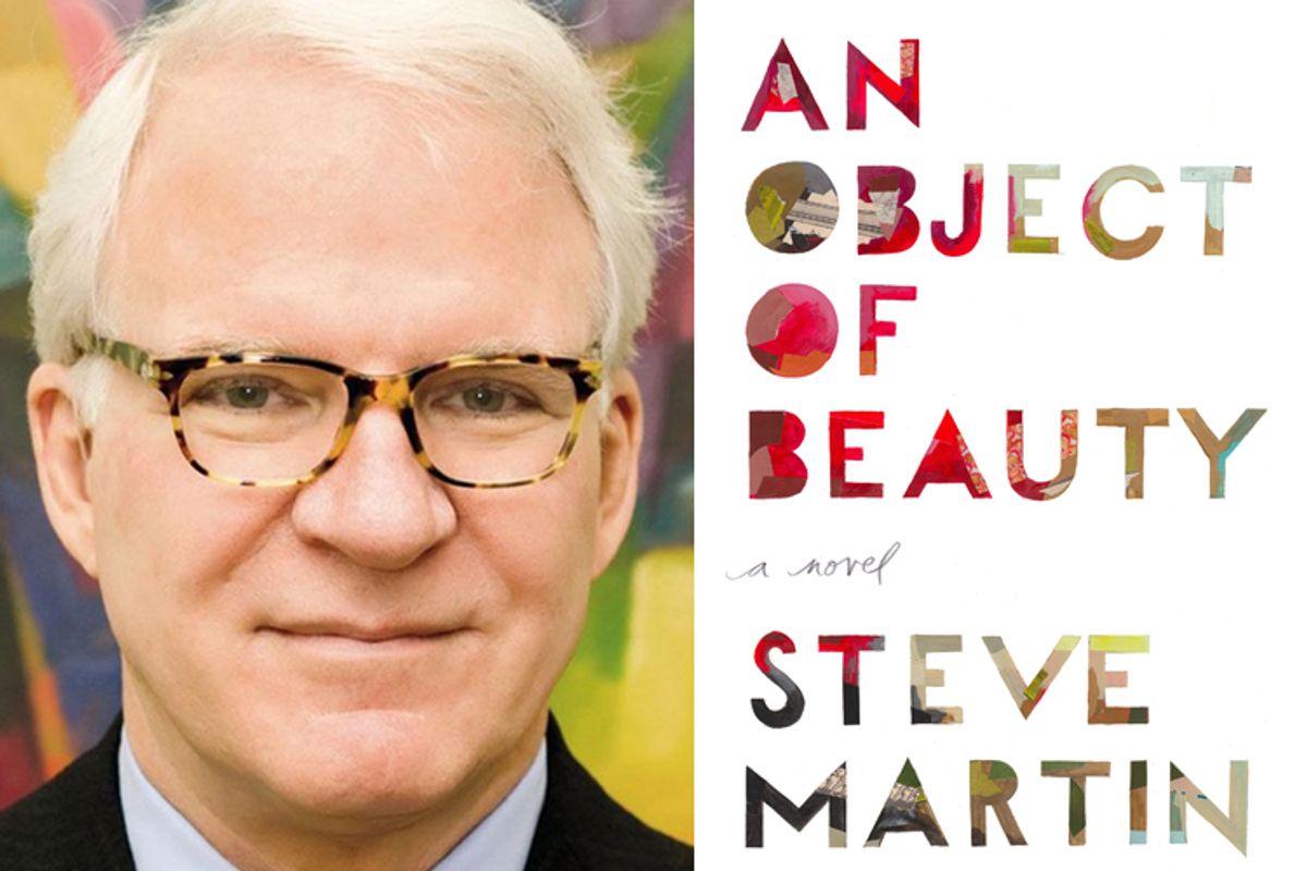 "Steve Martin, author of ""An Object of Beauty"""