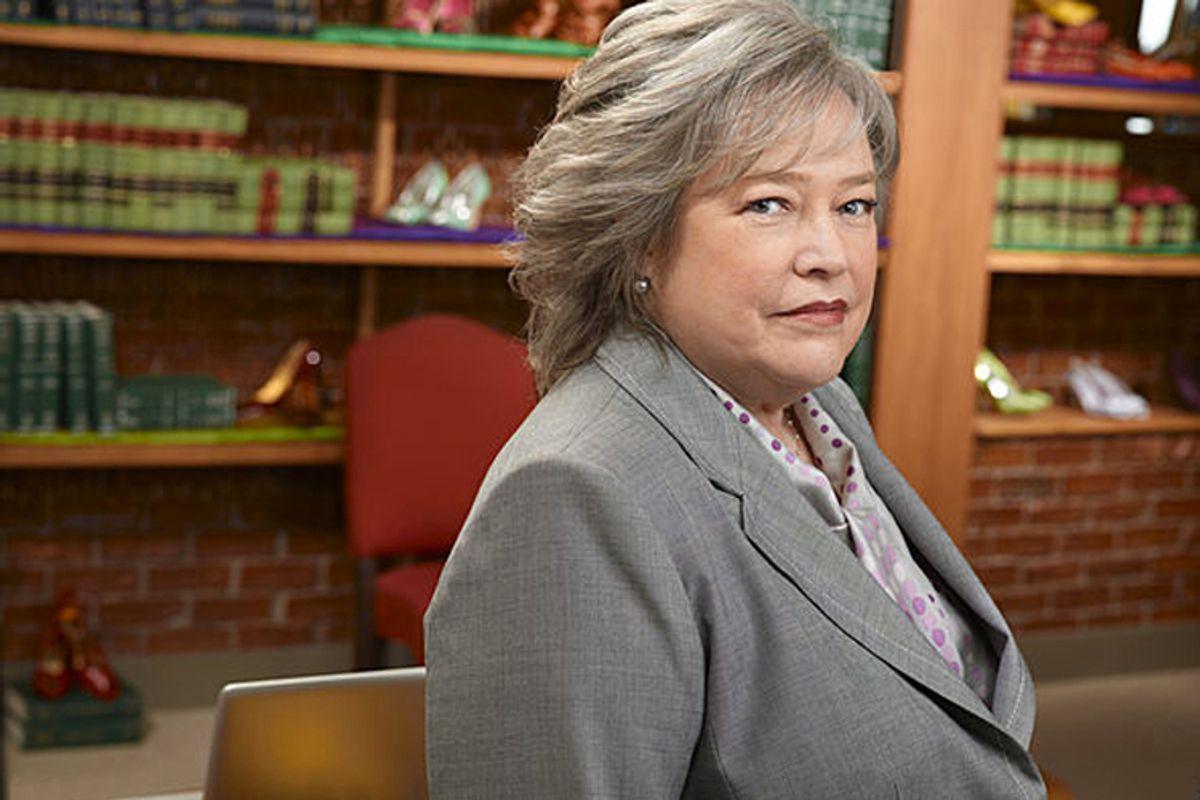 "Kathy Bates in ""Harry's Law"""