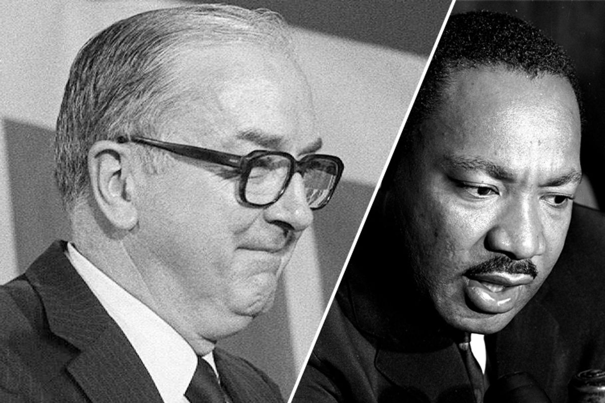 Jesse Helms and Martin Luther King, Jr.