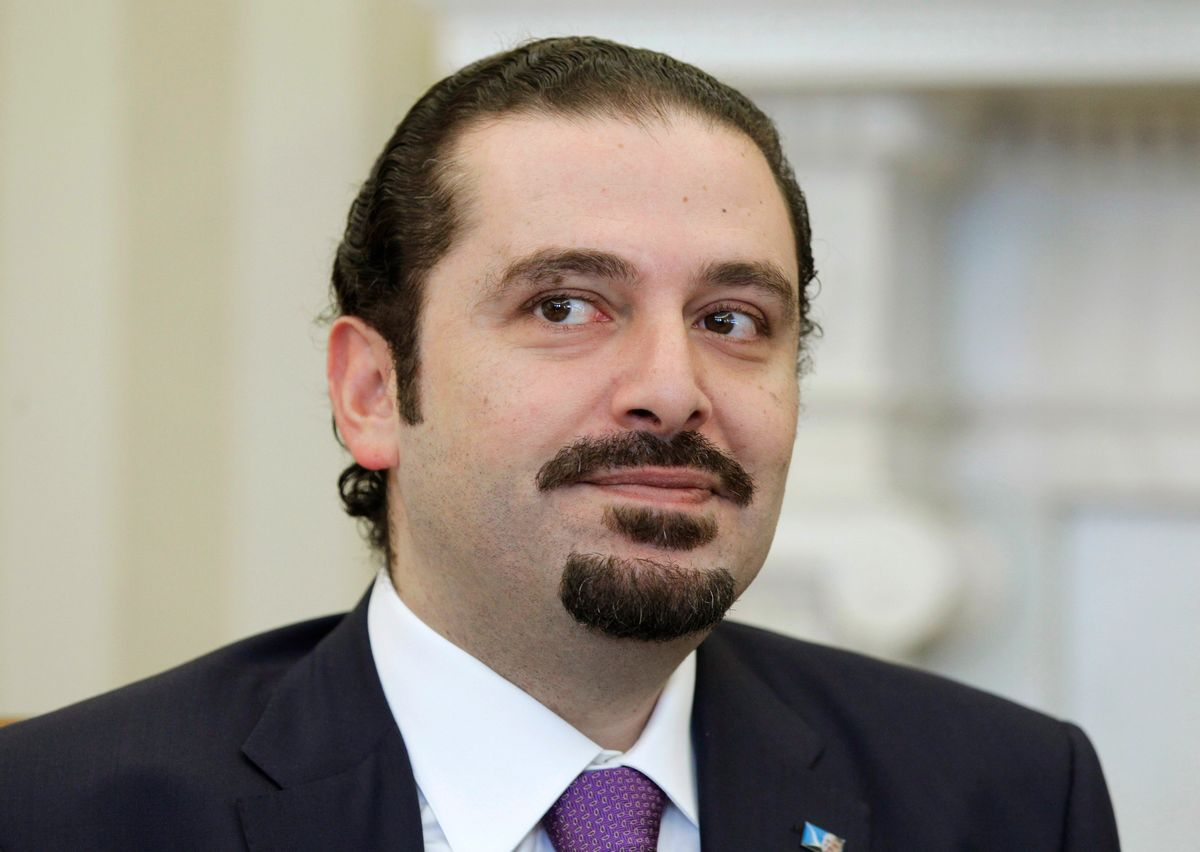Lebanese Prime Minister Saad Hariri meets with President Barack Obama,, Wednesday, Jan. 12, 2011, in the Oval Office of the White House in Washington. (AP Photo/Charles Dharapak) (AP)