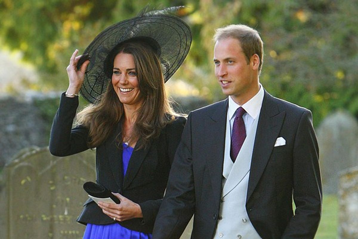 The engaged royal couple