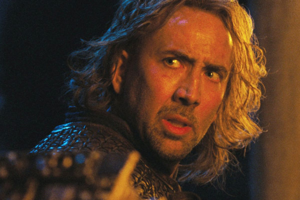 """Nicolas Cage in """"Season of the Witch"""""""