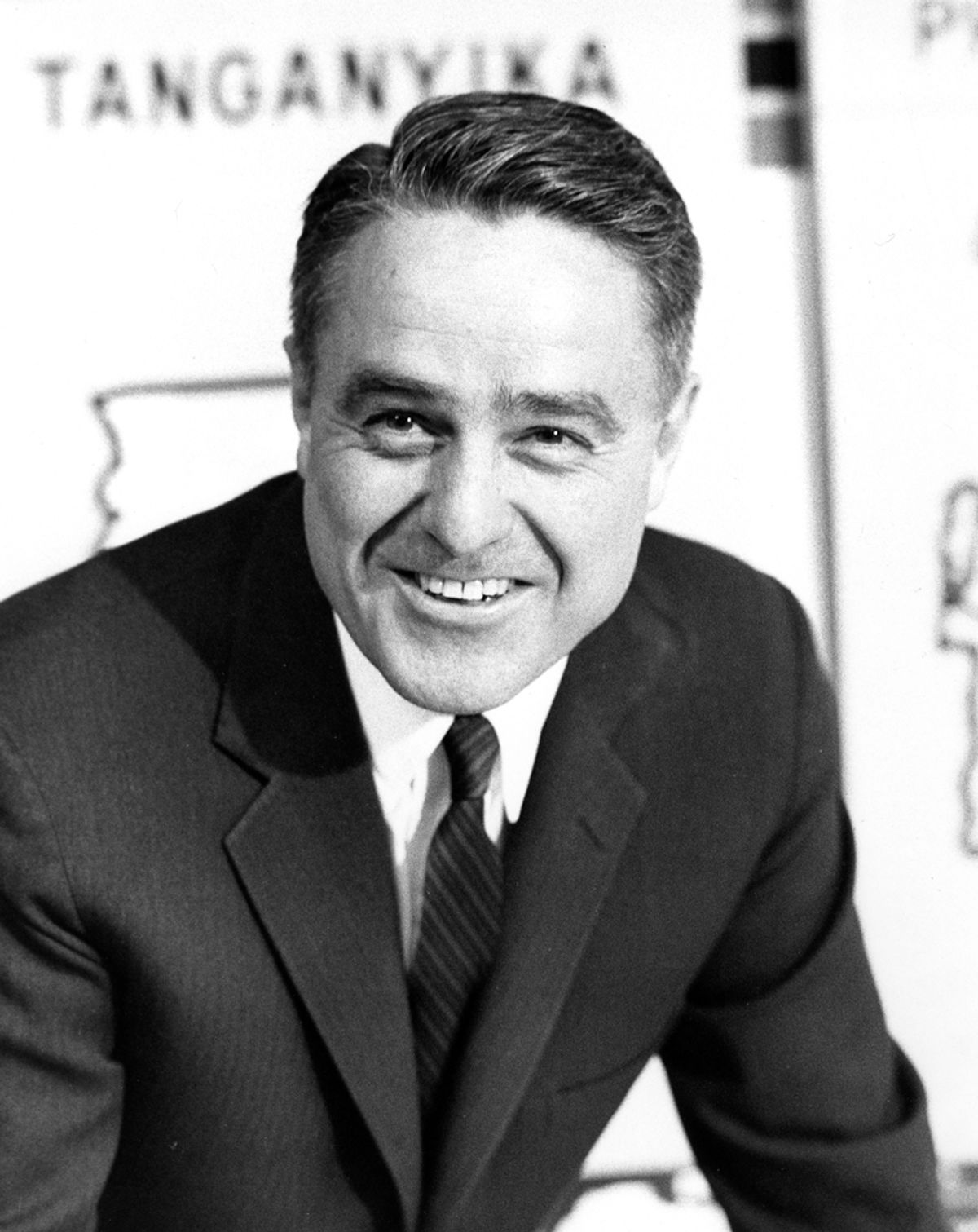 Portrait of R. Sargent Shriver (ca. 1962), first Director of the Peace Corps. Photograph in the R. Sargent Shriver Collection, John F. Kennedy Presidential Library and Museum, Boston.