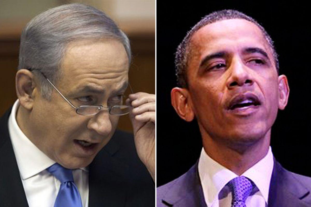 Benjamin Netanyahu and Barack Obama