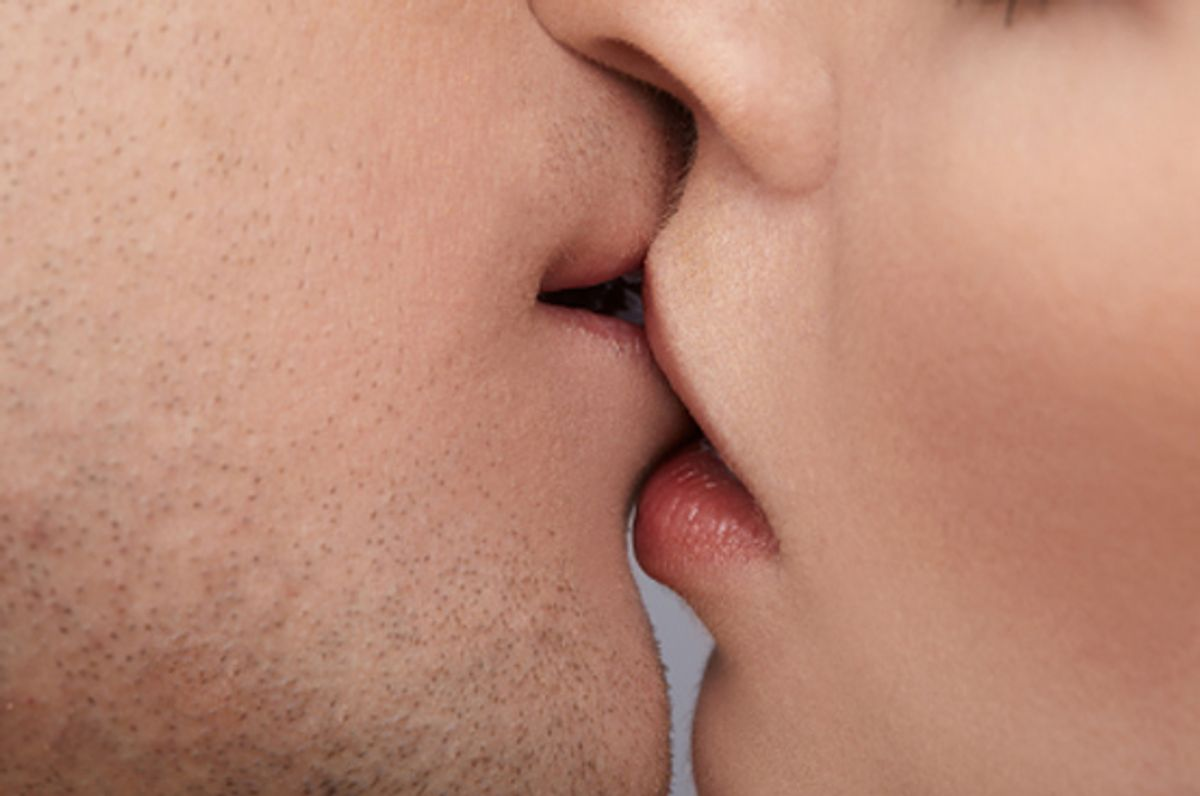 What is tongue kissing