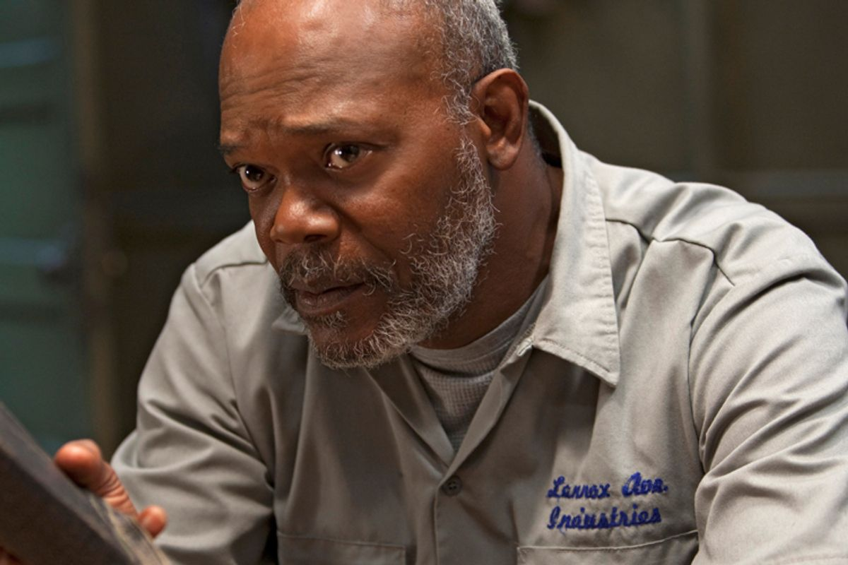 """Samuel L. Jackson in """"The Sunset Limited"""""""