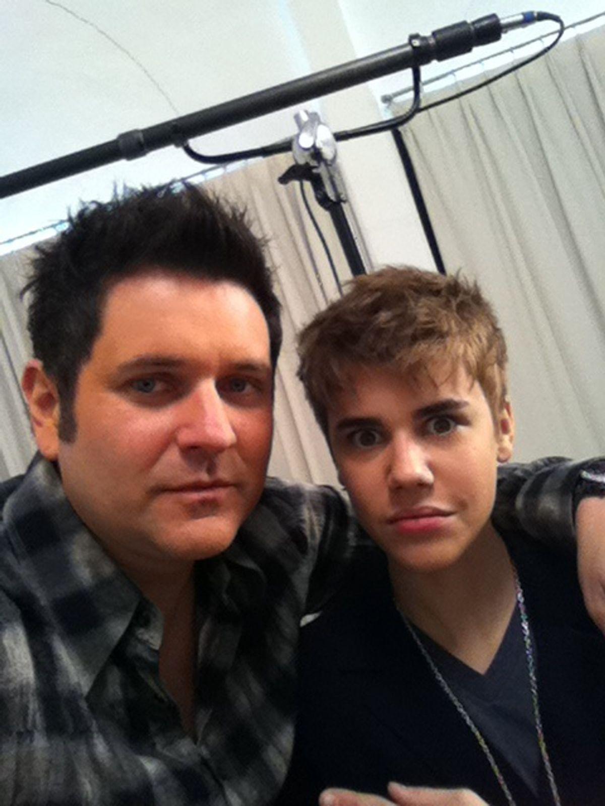 Bieber, shorn.