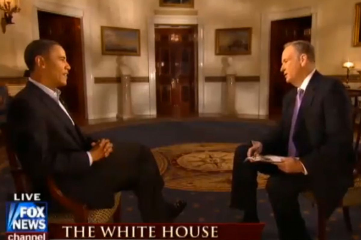 President Obama and Bill O'Reilly