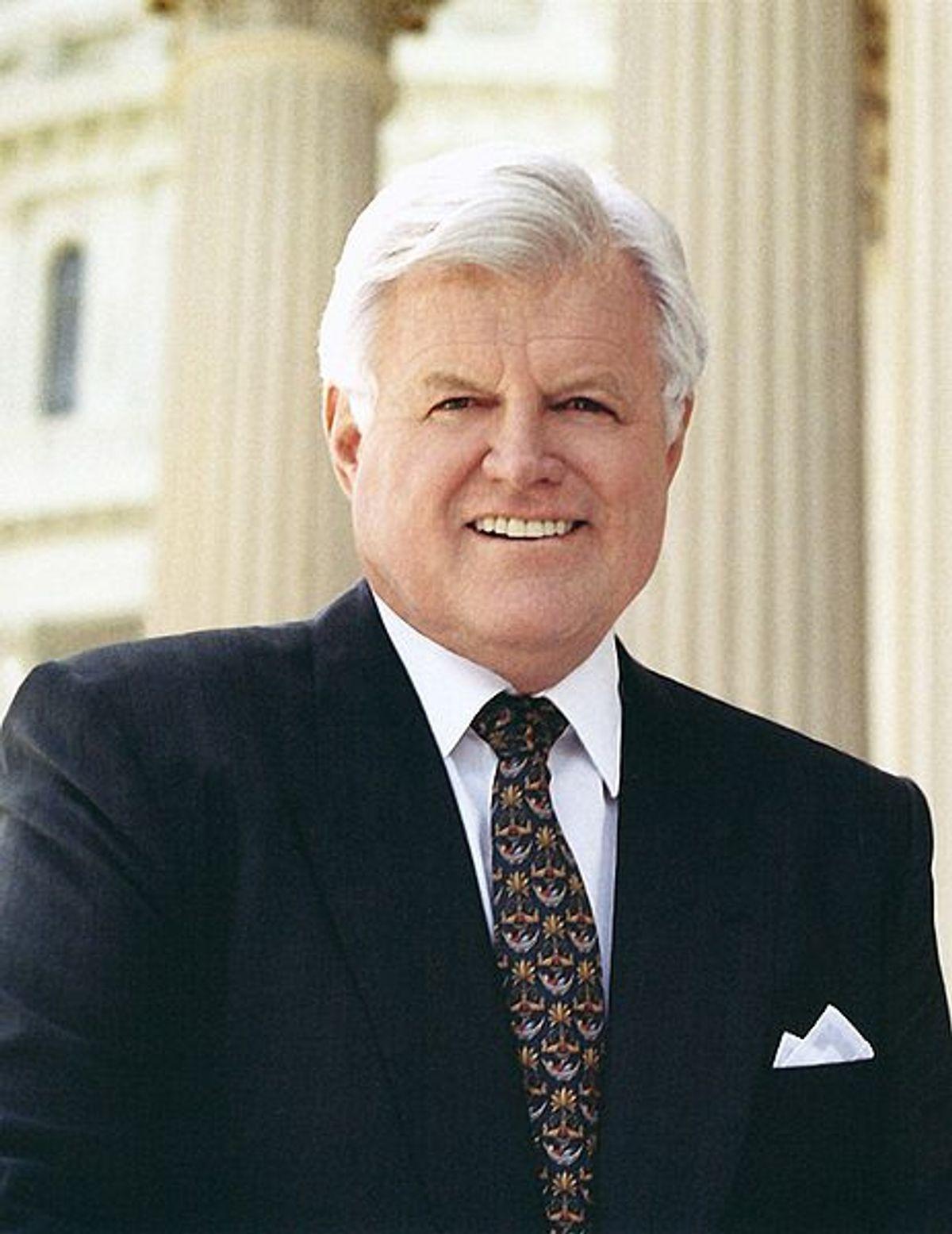 "Edward ""Ted"" Kennedy, former U.S. senator from Massachusetts (D)."