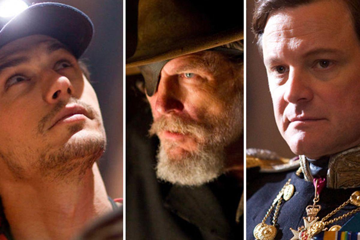 James Franco (127 Hours),  Jeff Bridges (True Grit), Colin Firth (The King's Speech)