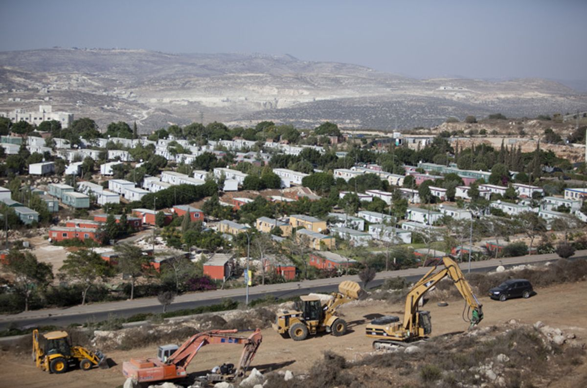The U.N. Security Council condemned Israeli settlements in Palestine like these before the U.S. vetoed the resolution.