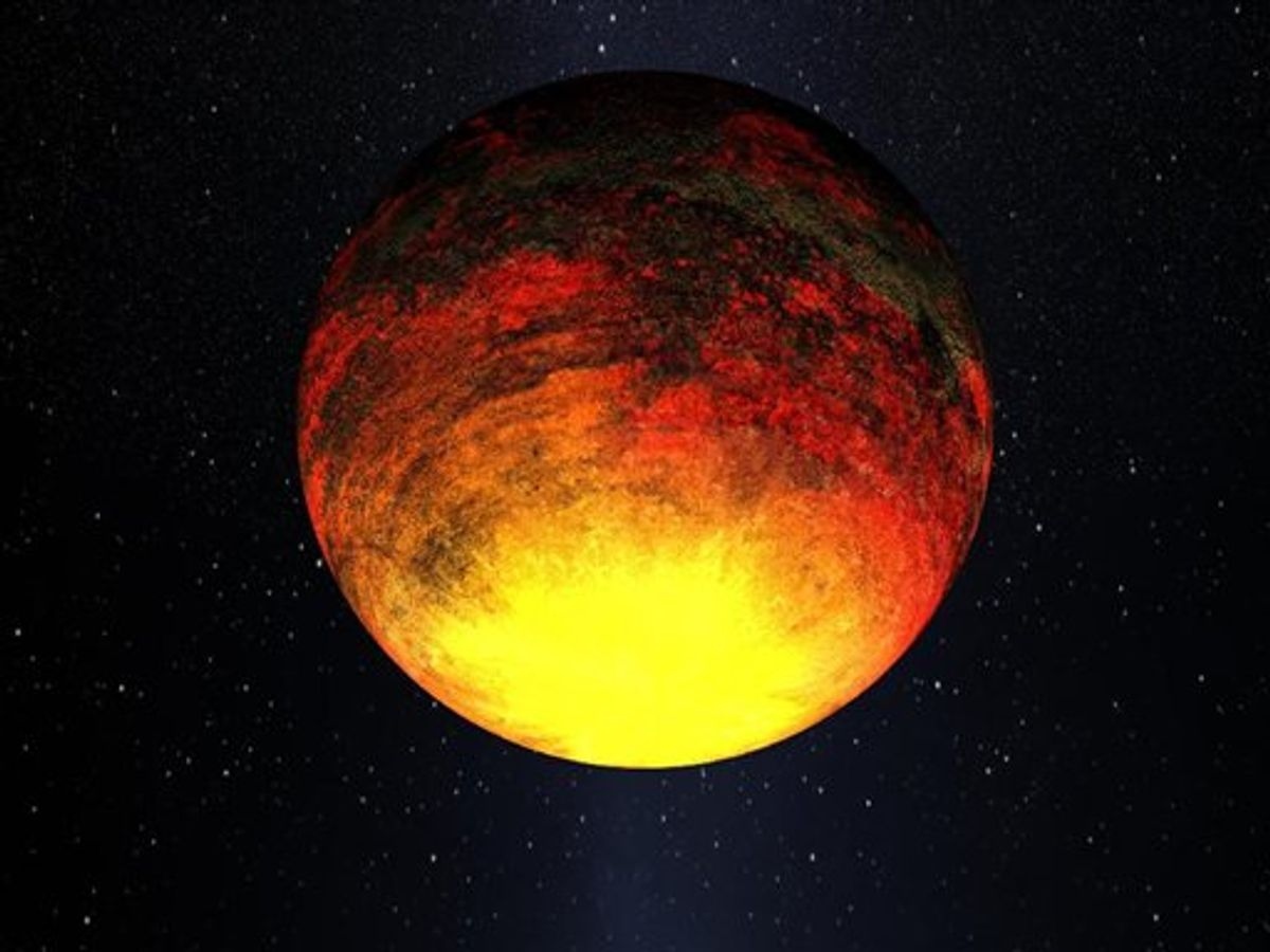 This is an Jan. 2011 handout artist rendering provided by NASA. NASA's Kepler telescope is finding that relatively smaller planets _ still larger than Earth, but tinier than Jupiter _ are proving more common outside our solar system than once thought. This drawing is of one of the smallest planets that Kepler has found, a rocky planet called Kepler-10b, that measures 1.4 times the size of Earth and where the temperature is more than 2,500 degrees Fahrenheit. (AP Photo/Dana Berry, SkyWorks Digital Inc., Kepler Mission, NASA Ames Research Center) (AP)